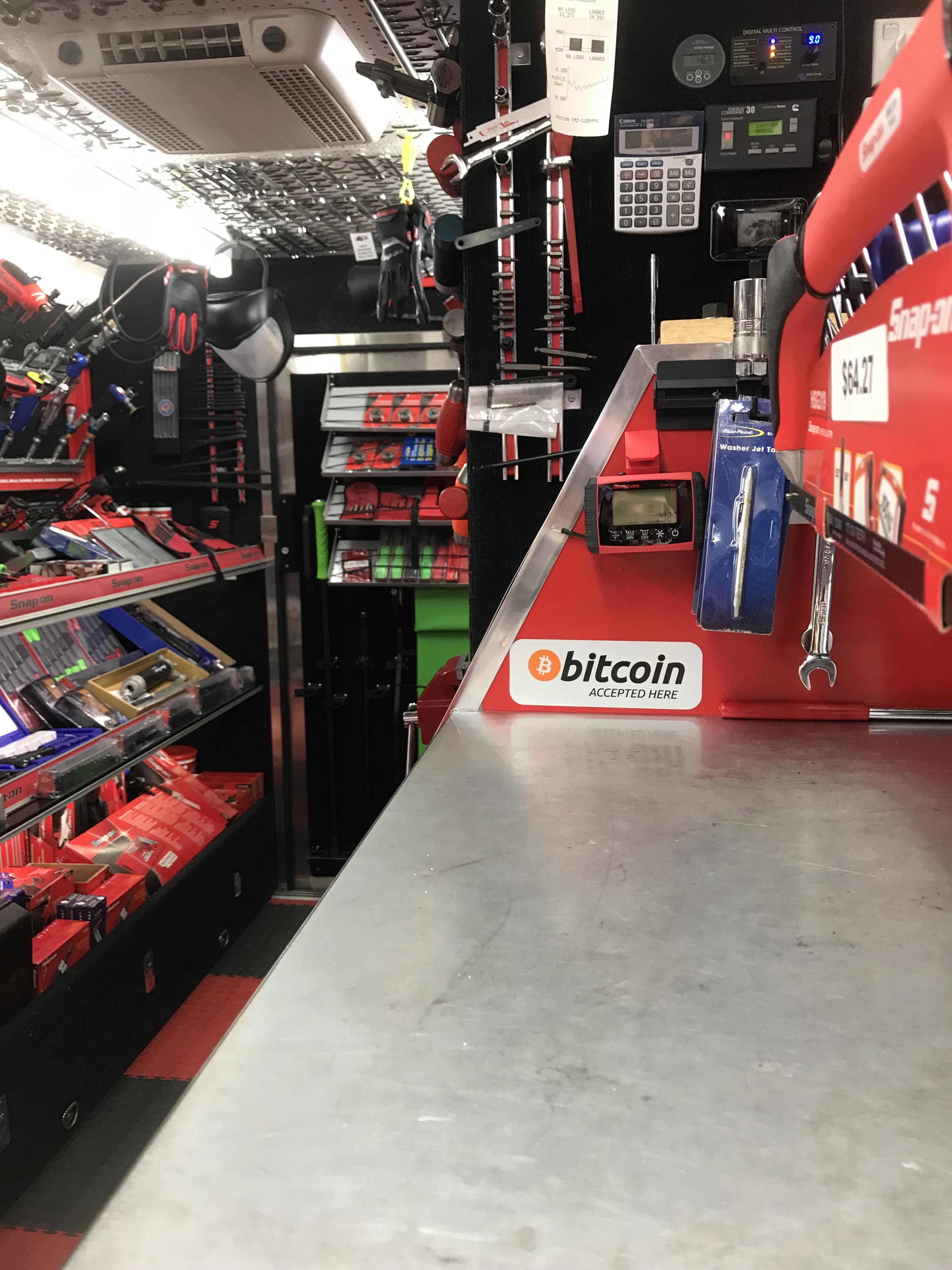 Snap On Truck : truck, Local, Tools, Truck, Australia, Accepting, Bitcoins!, Bitcoin