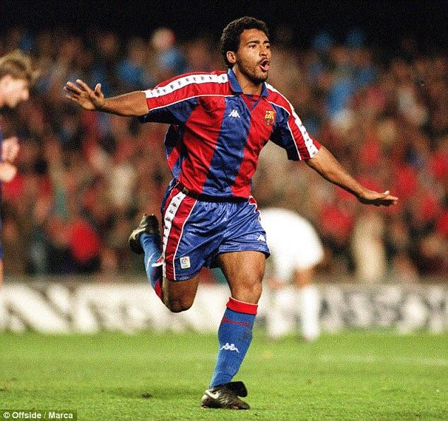 25 years ago today, Romario's hat trick secured a 5-0 victory over ...