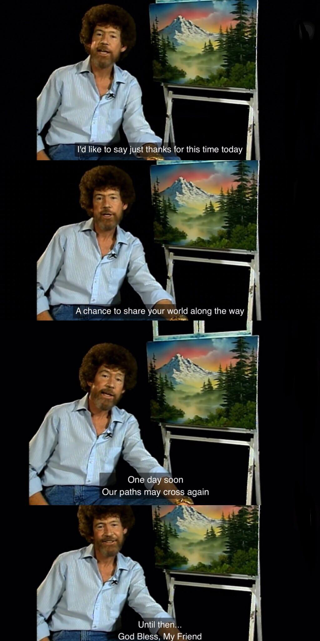 Bob Ross How Did He Die : Final, Goodbye, Prior, Death., MadeMeCry