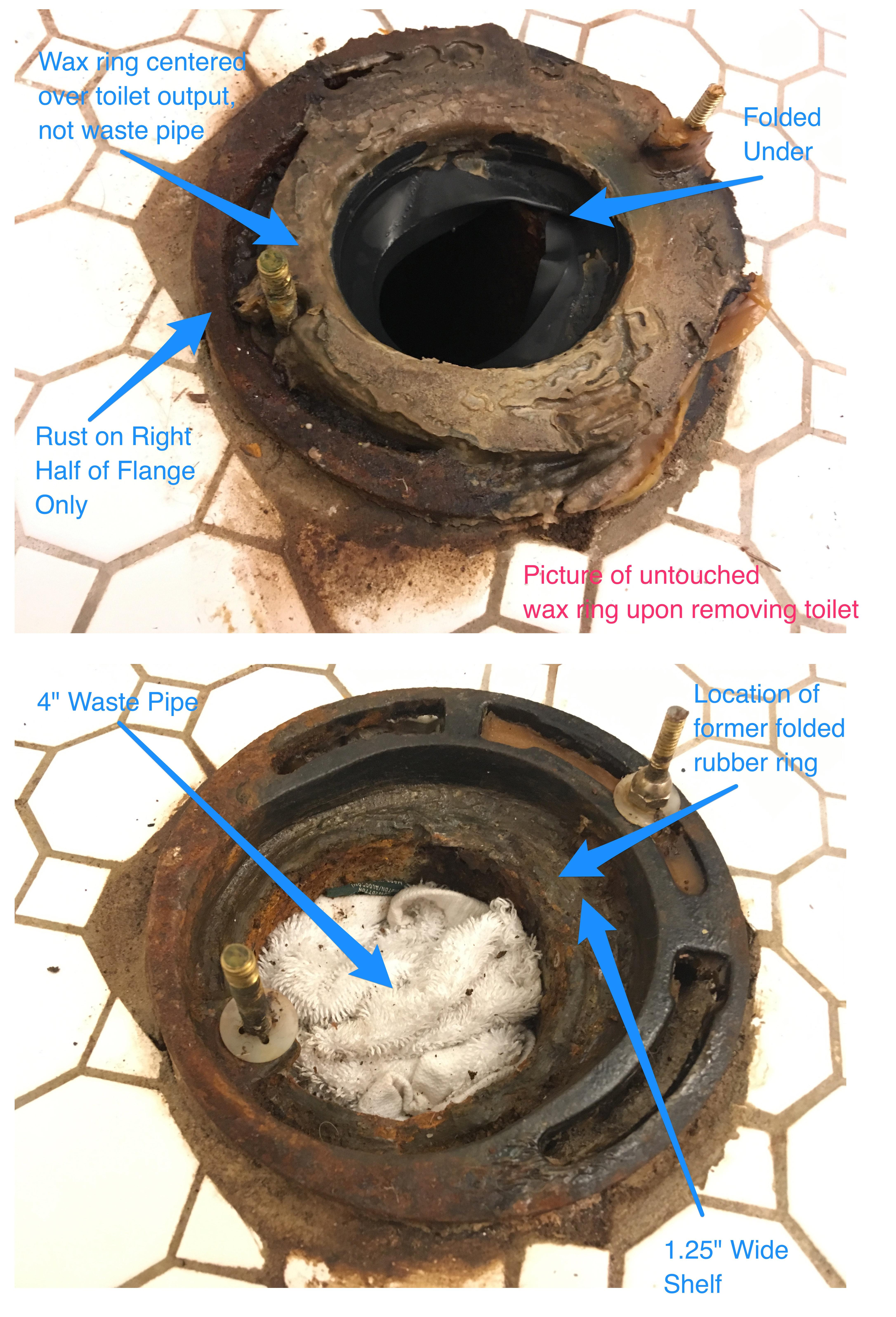 Cast Iron Toilet Flange Replacement