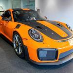 A Pastel Orange Gt2rs Porsche