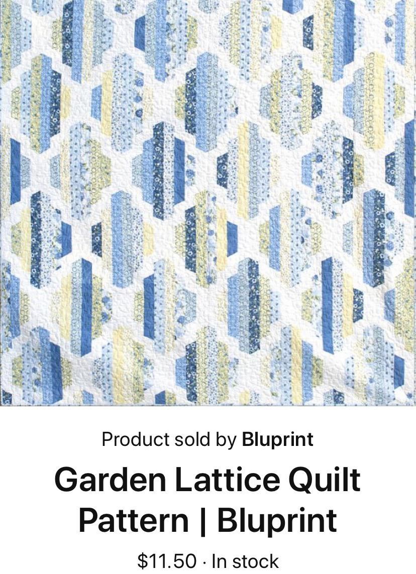 Garden Lattice Quilt Pattern : garden, lattice, quilt, pattern, Pattern, Help!, Anyone, Completed, Garden, Lattice, Quilt?, Instructions, Include, Patterns, Cutting, Templates, Bleed, Another, Page., Doesn't, If/how