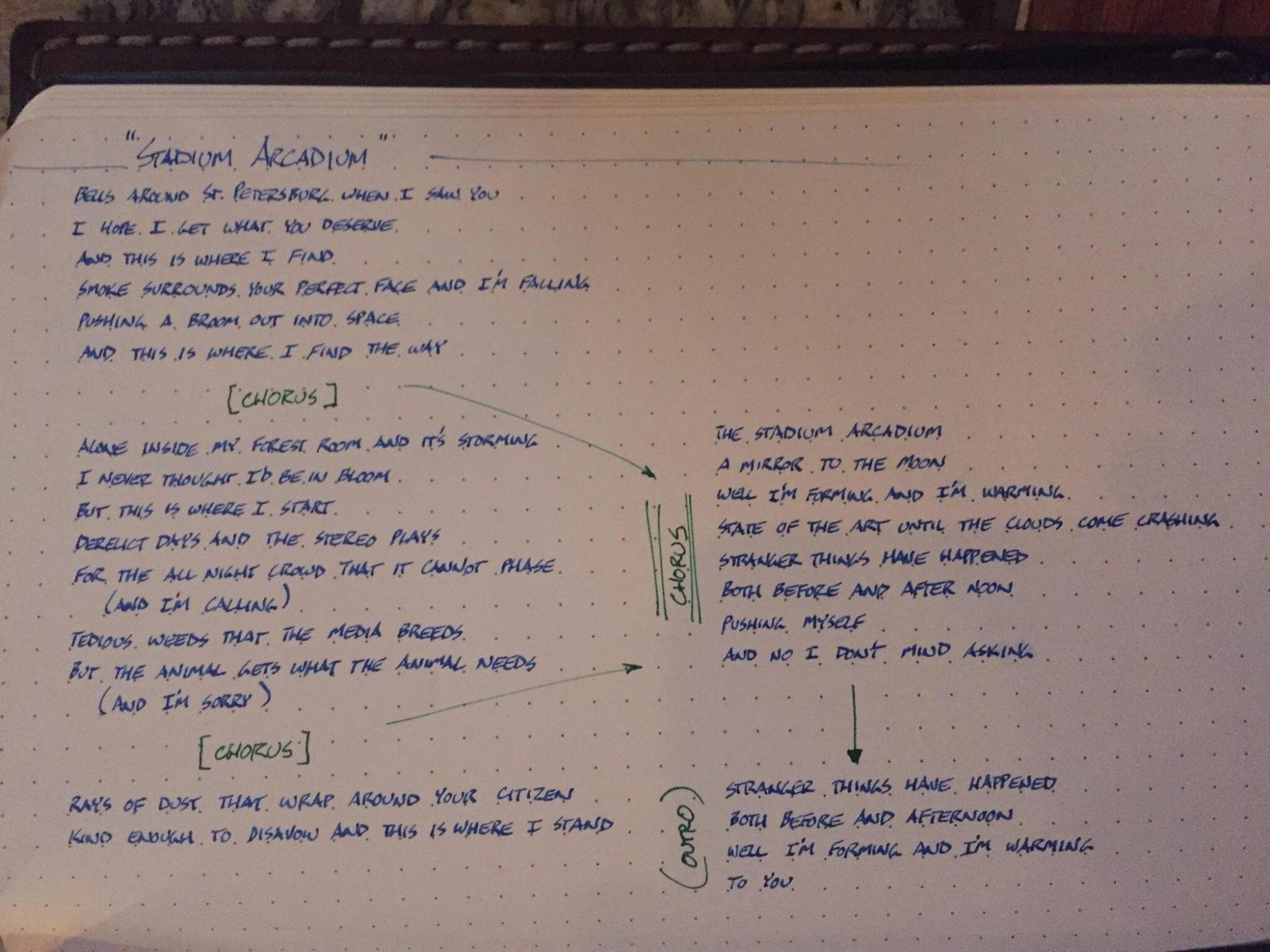 hight resolution of journaling