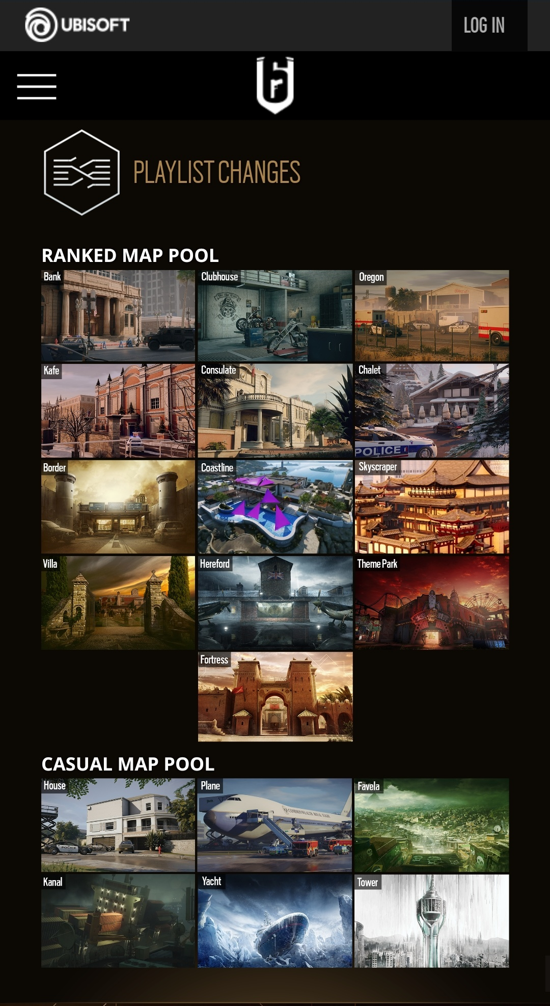 Rainbow Six Siege Maps Layout : rainbow, siege, layout, World, Library, Complete, Resources:, Ranked
