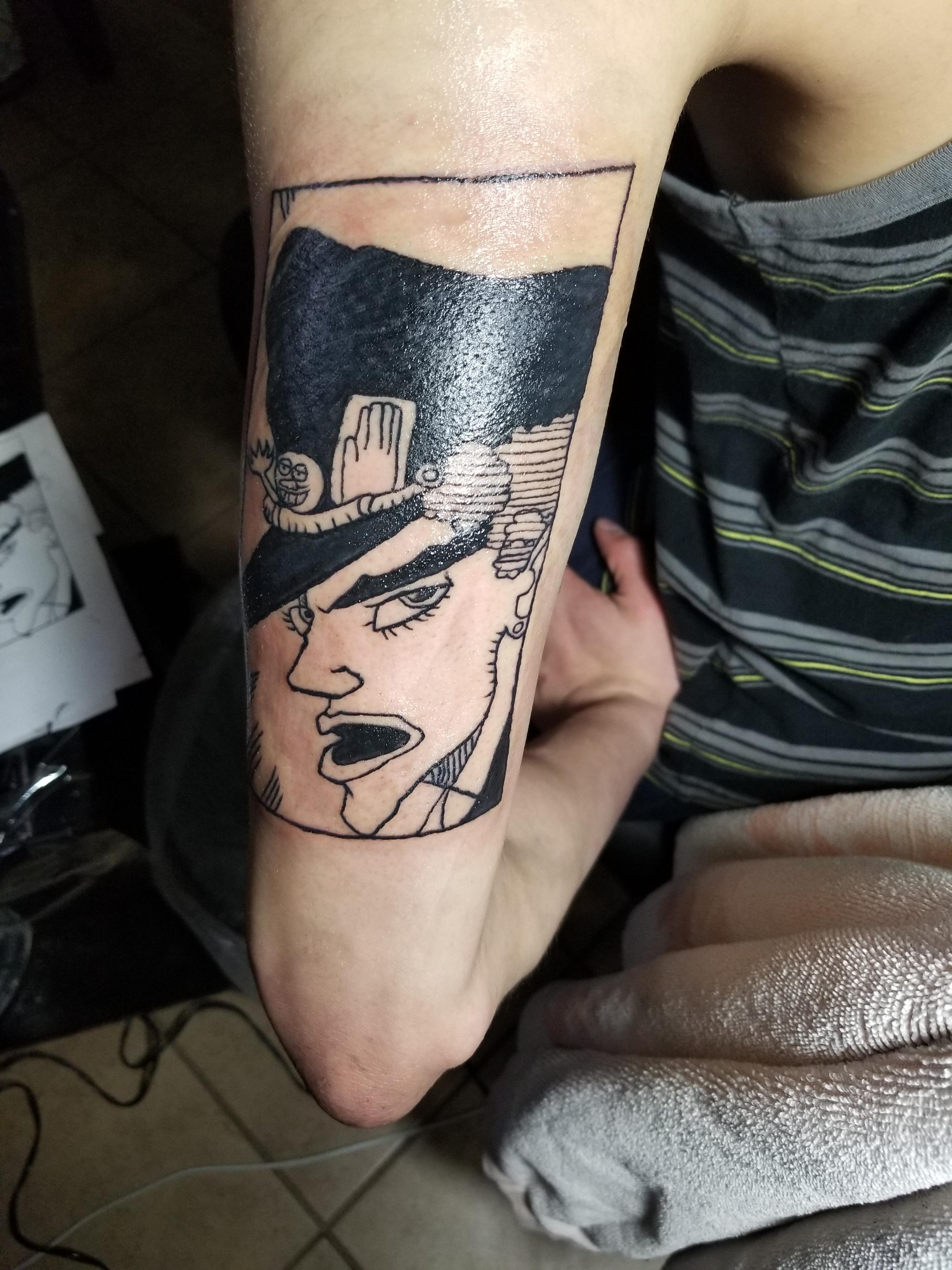 Tattoo You Jojo : tattoo, Tattoo, Design