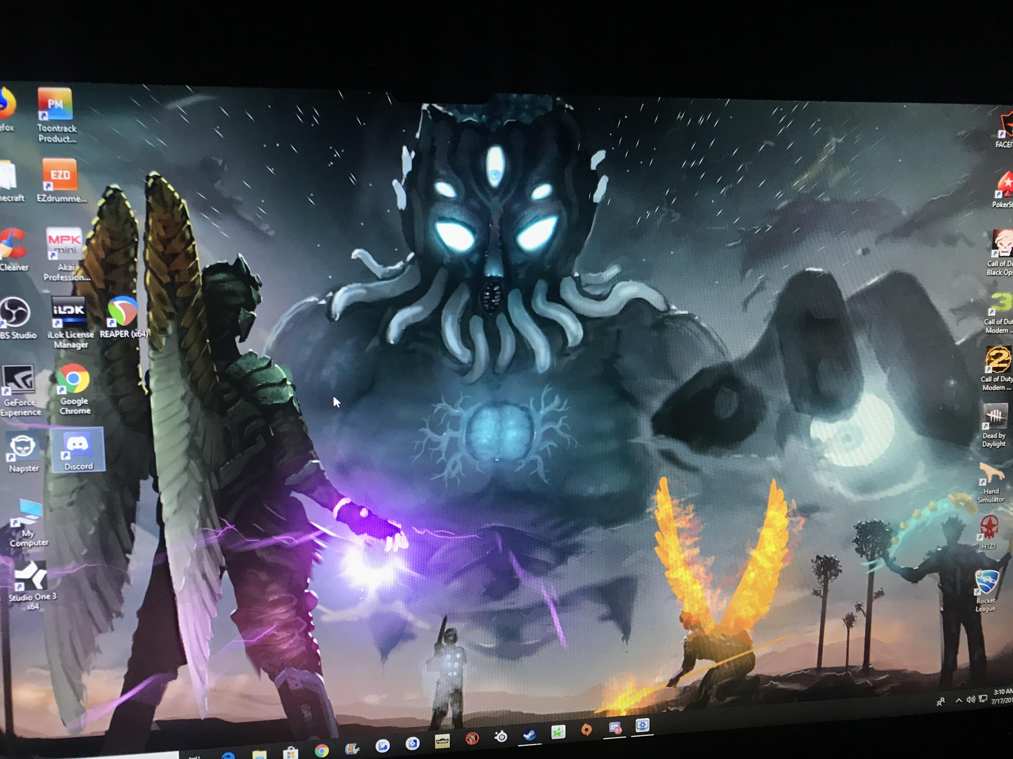 so i saw this in wallpaper engine, and realize how cool would it be
