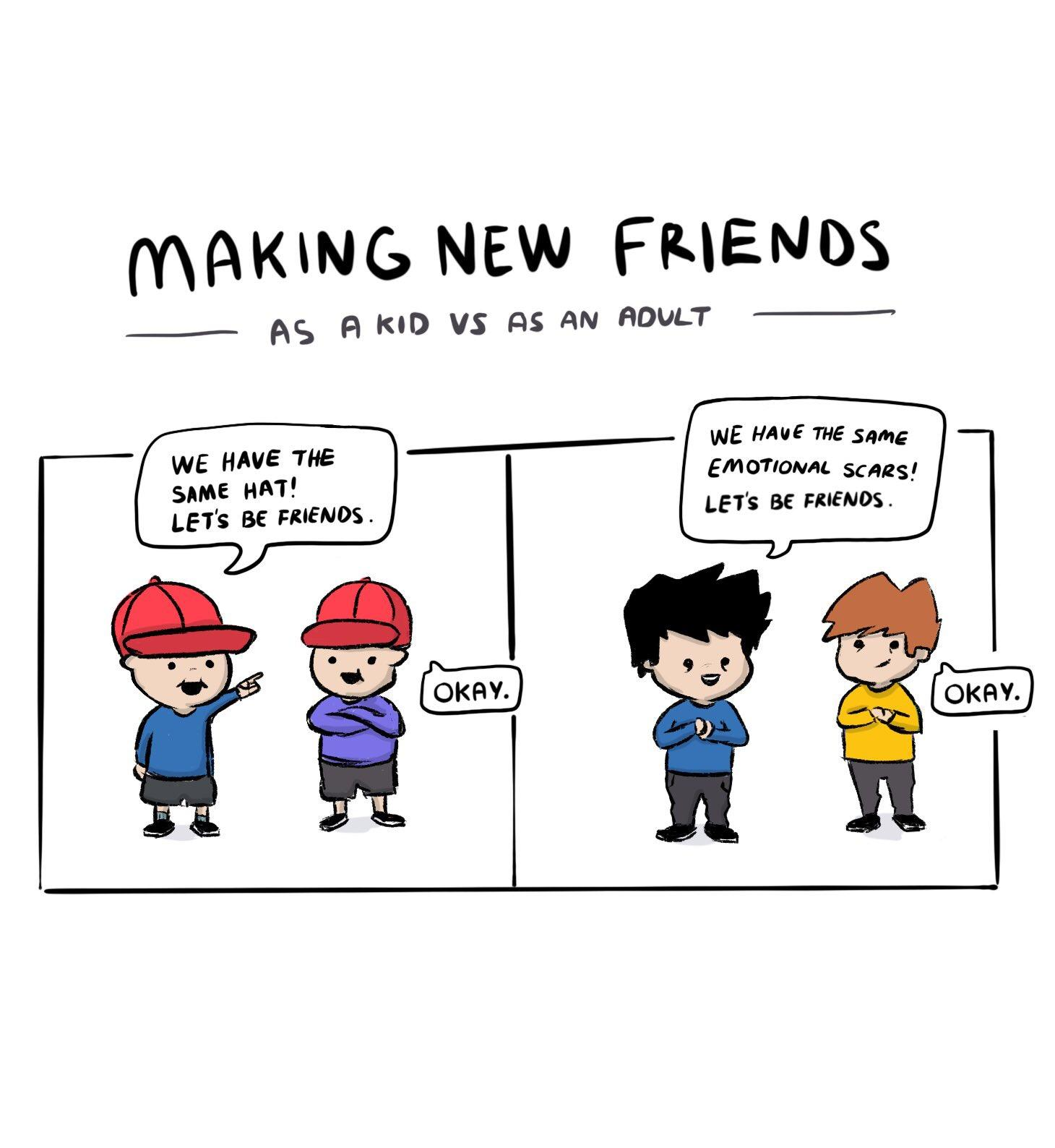 Making New Friends Oc Comics