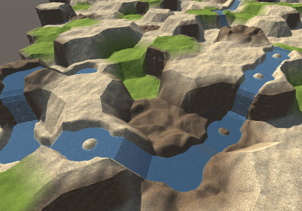 Unity Procedural Hex Map Tile - Year of Clean Water