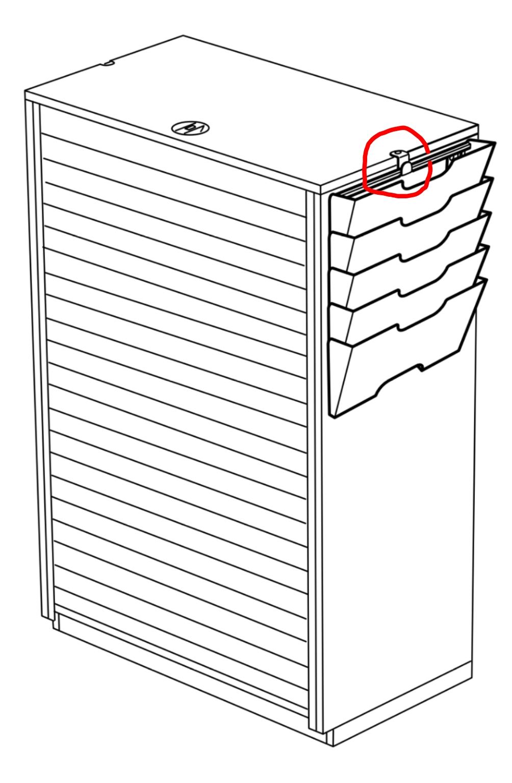 hook for kvissle wall magazine rack