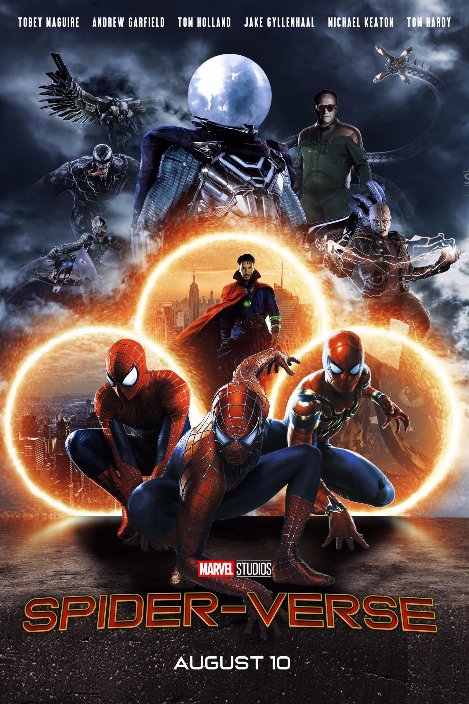 The Live-Action Spider-Men Were Almost in Spider-Verse