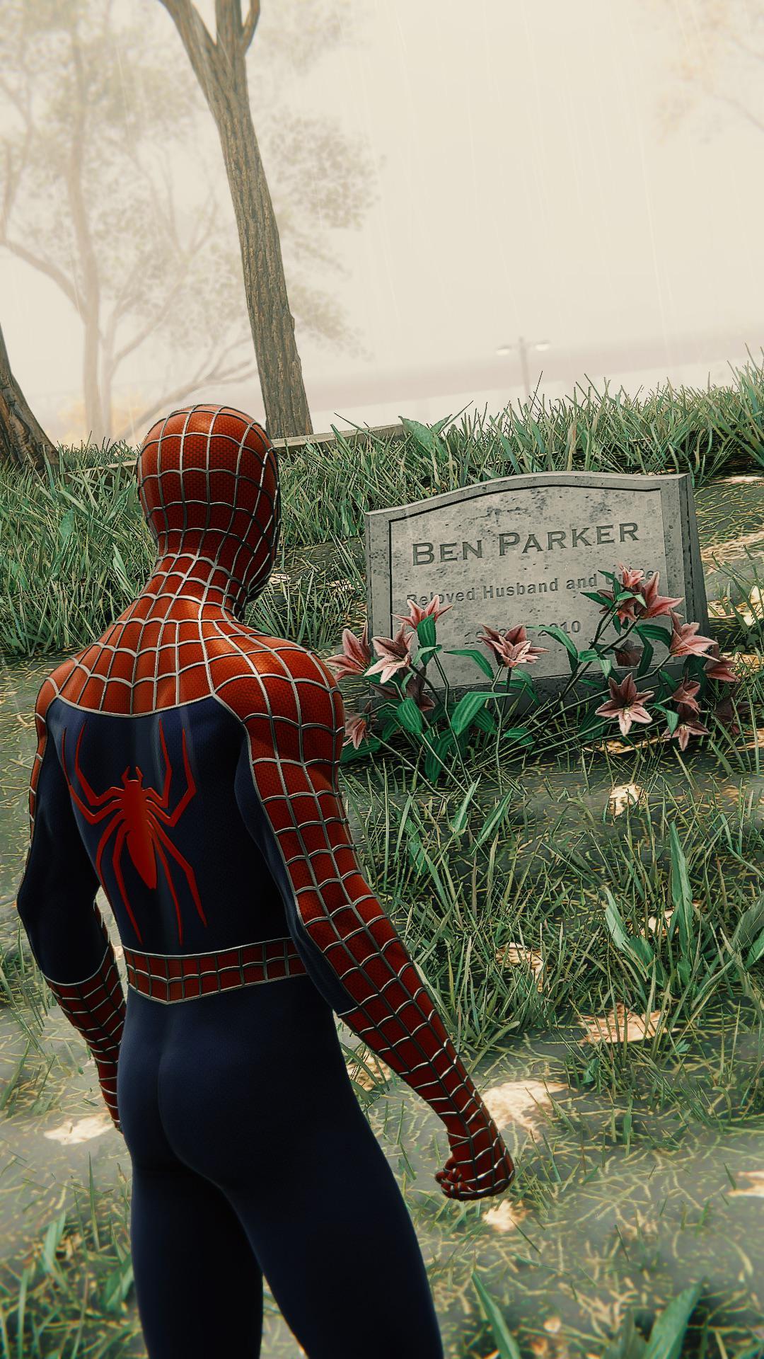Ben Parker Grave Spider Man Ps4 : parker, grave, spider, Title:, Won't, Down.