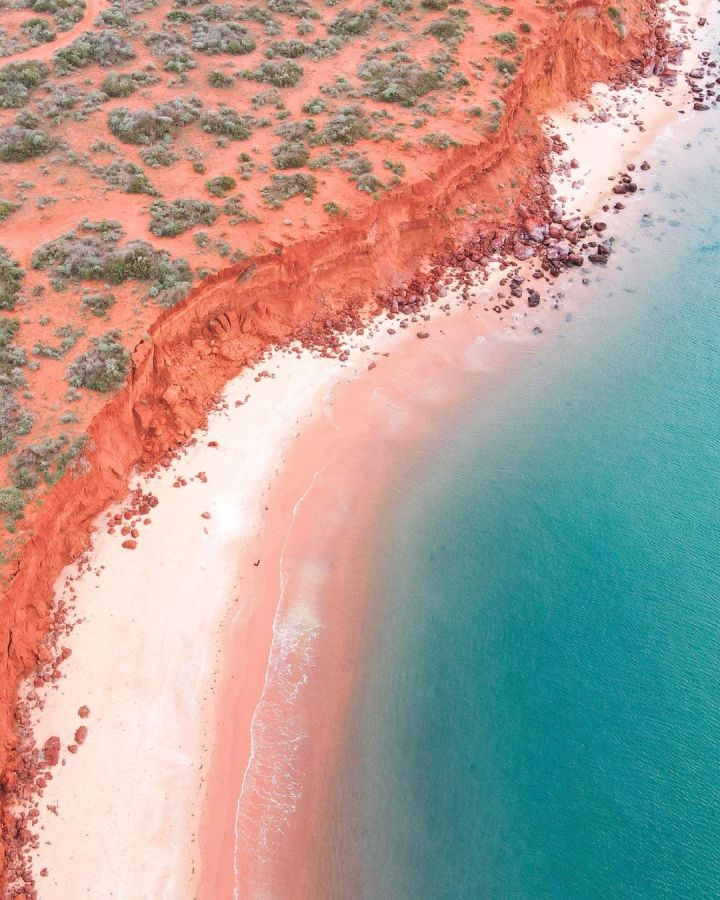 The colours of Shark Bay, Western Australia (Photo credit to @_ourgreatescape)