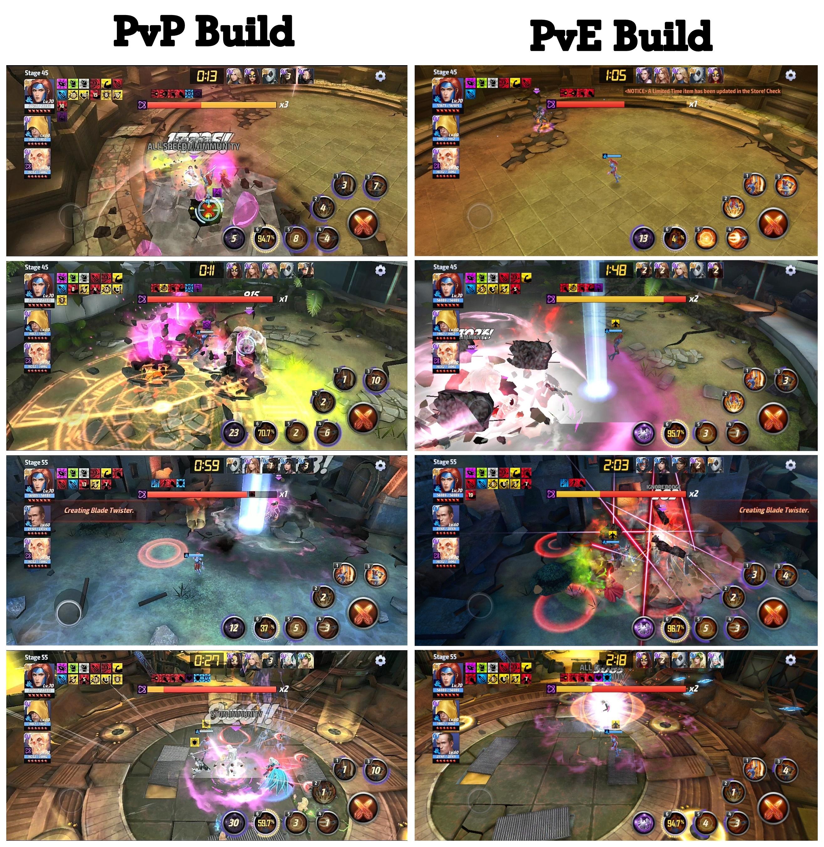 Jean Grey T3 WBU Tes (PvP & PvE Build) : future_fight