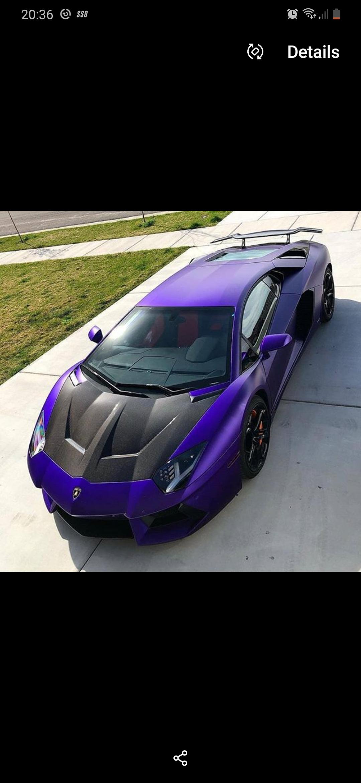 Purple Lamborghini Car : purple, lamborghini, Stradman's, Lamborghini, Aventador., Anyone, Please, Livery, Would, Favour!, ForzaHorizon