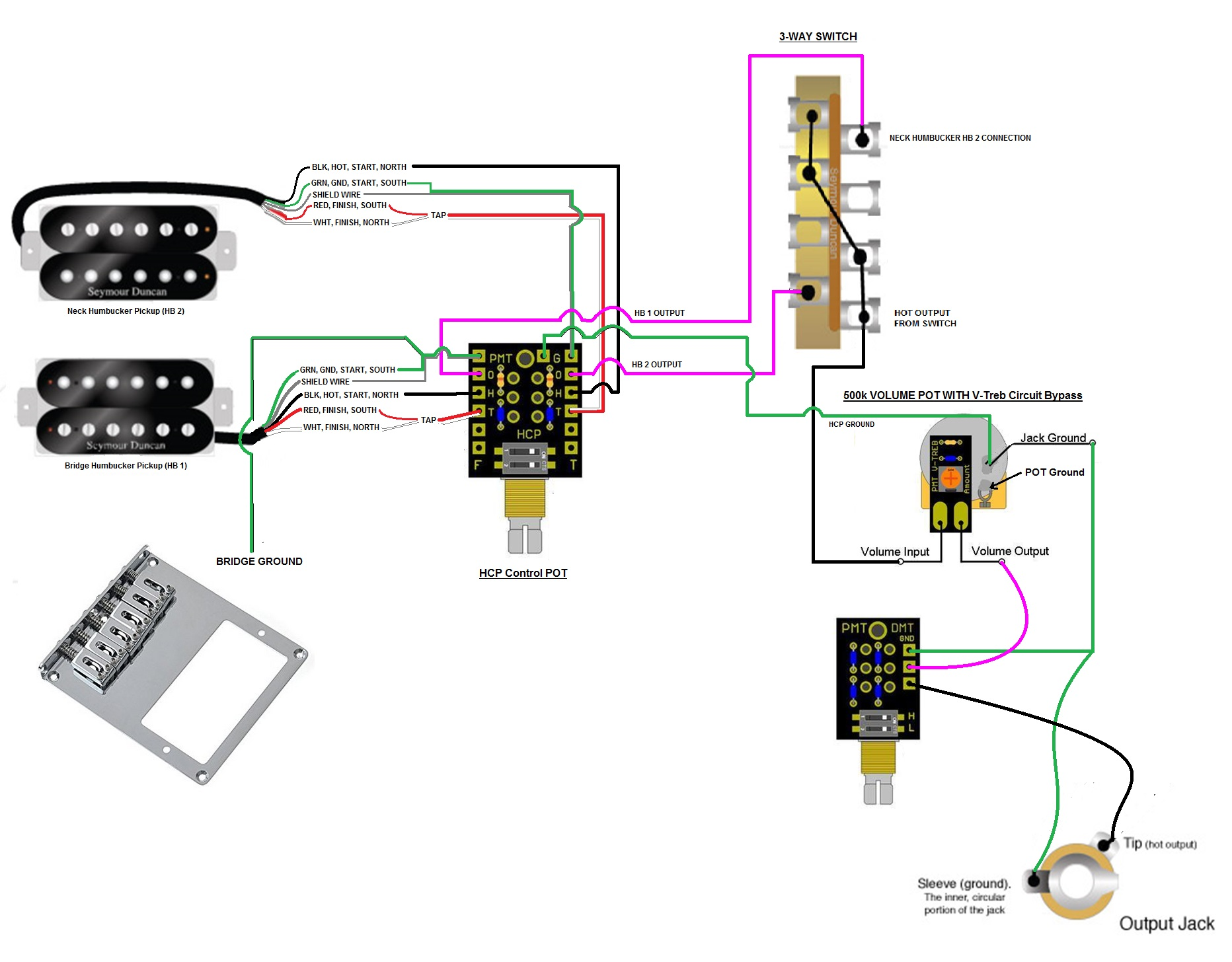 hight resolution of help dmt control pot wiring function tone dial doesnt vary the tone but push pull function works