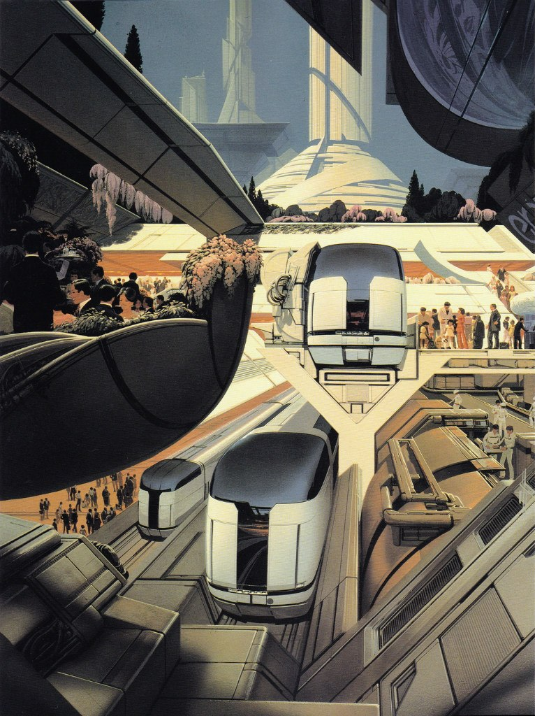 Syd Mead Concept Art : concept, Concept, (Blade, Runner's, Artist), RetroFuturism