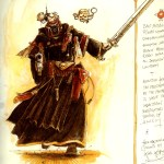 Black Priest By John Blanche From Original Concepts By Karl Kopinsky Imaginarywarhammer