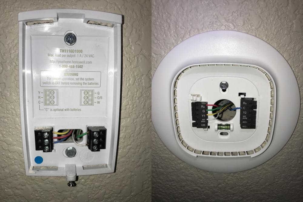 medium resolution of no heat after installing ecobee3 is my wiring correct