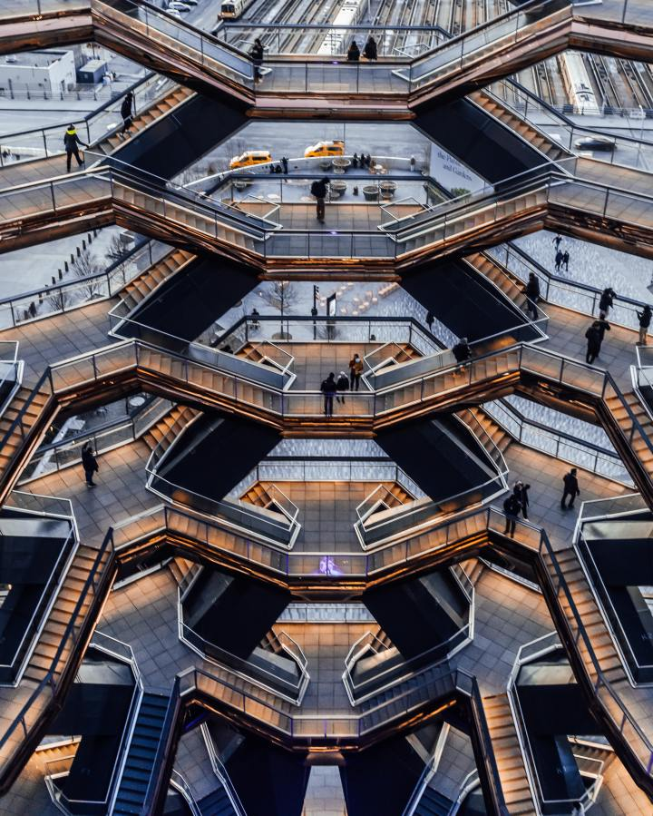 The Vessel, Hudson Yards, New York (Photo credit to Martin Olsson)