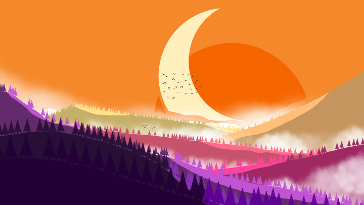 Landscape i did while learning photoshop [3840 x 2160]