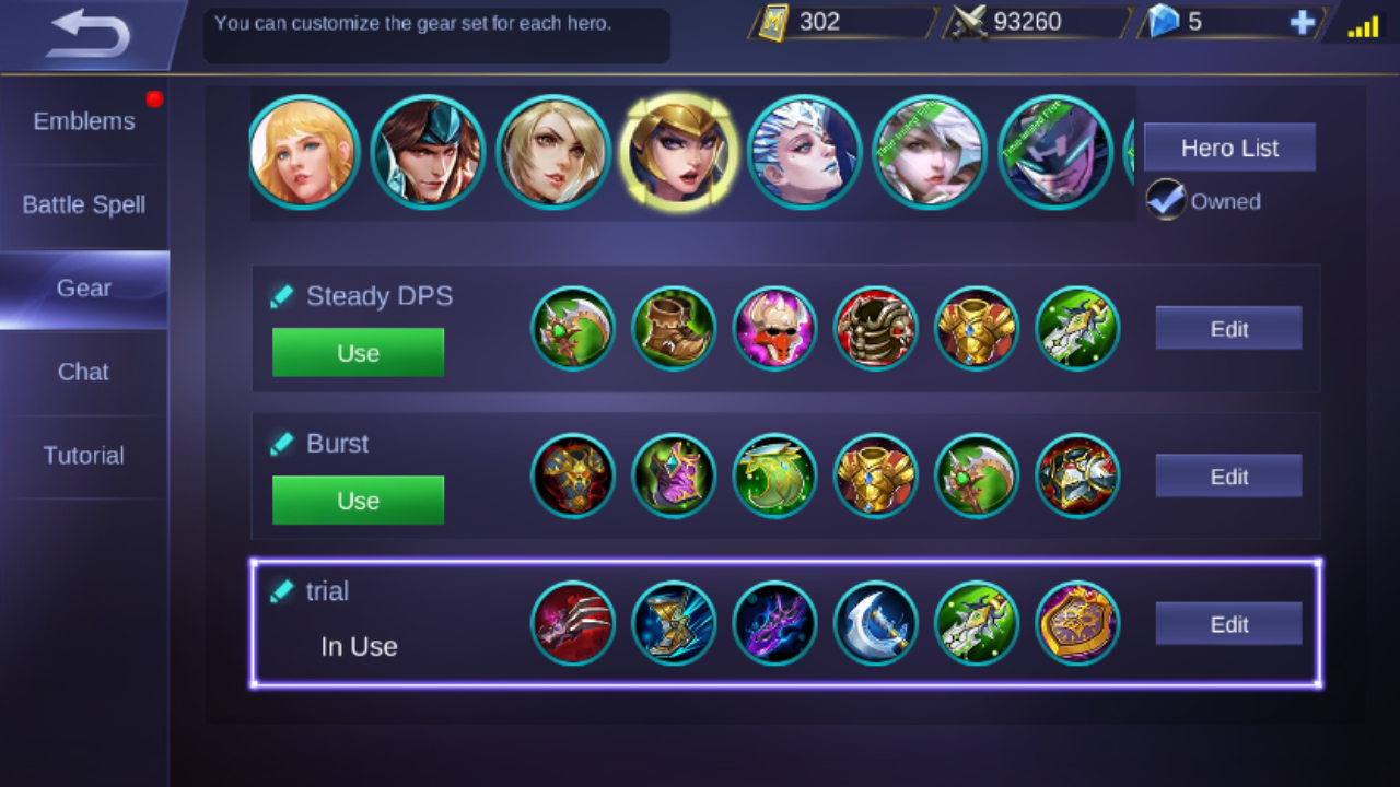 Rate My Build Freya And Any Build Suggestions Mobilelegends