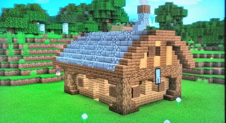 My starter house What do you think? : Minecraft