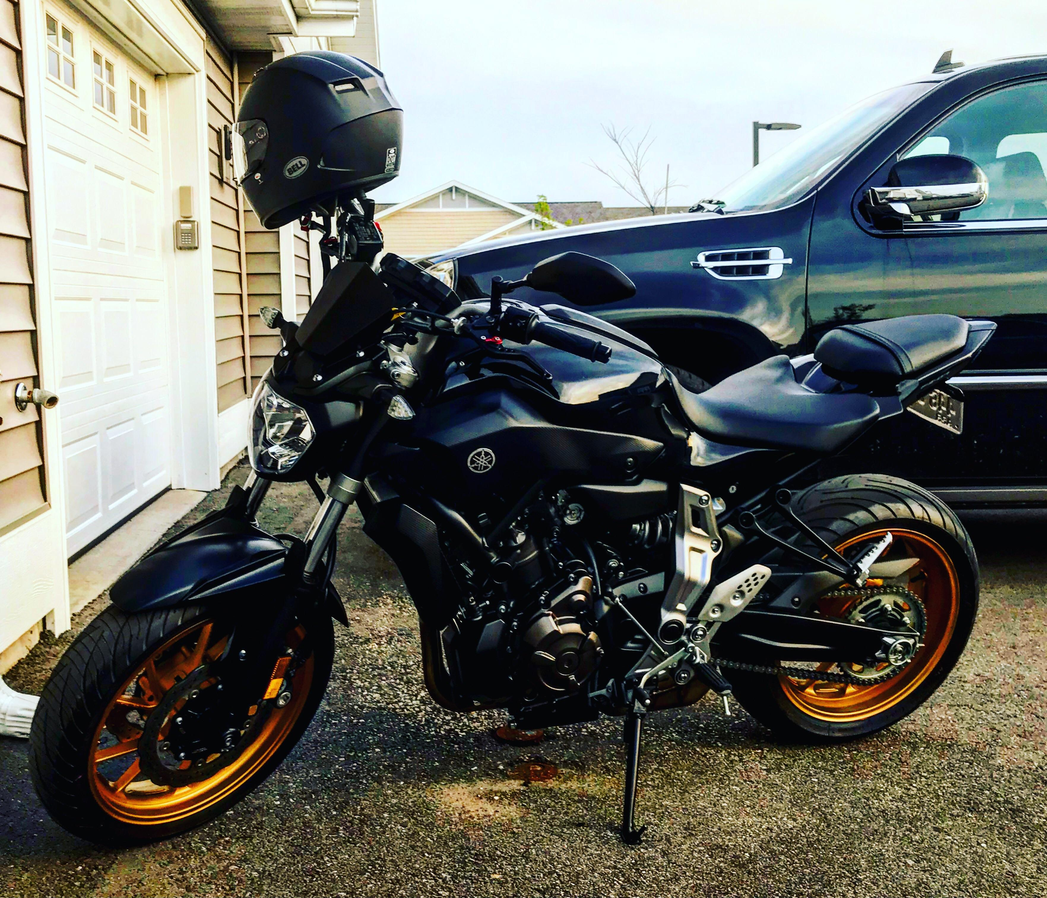 just bought a 2016 fz 07 yesterday