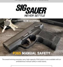 p365 with the manual safety is shipping i ve been holding out for this one and can t wait to pick it up  [ 1242 x 2208 Pixel ]
