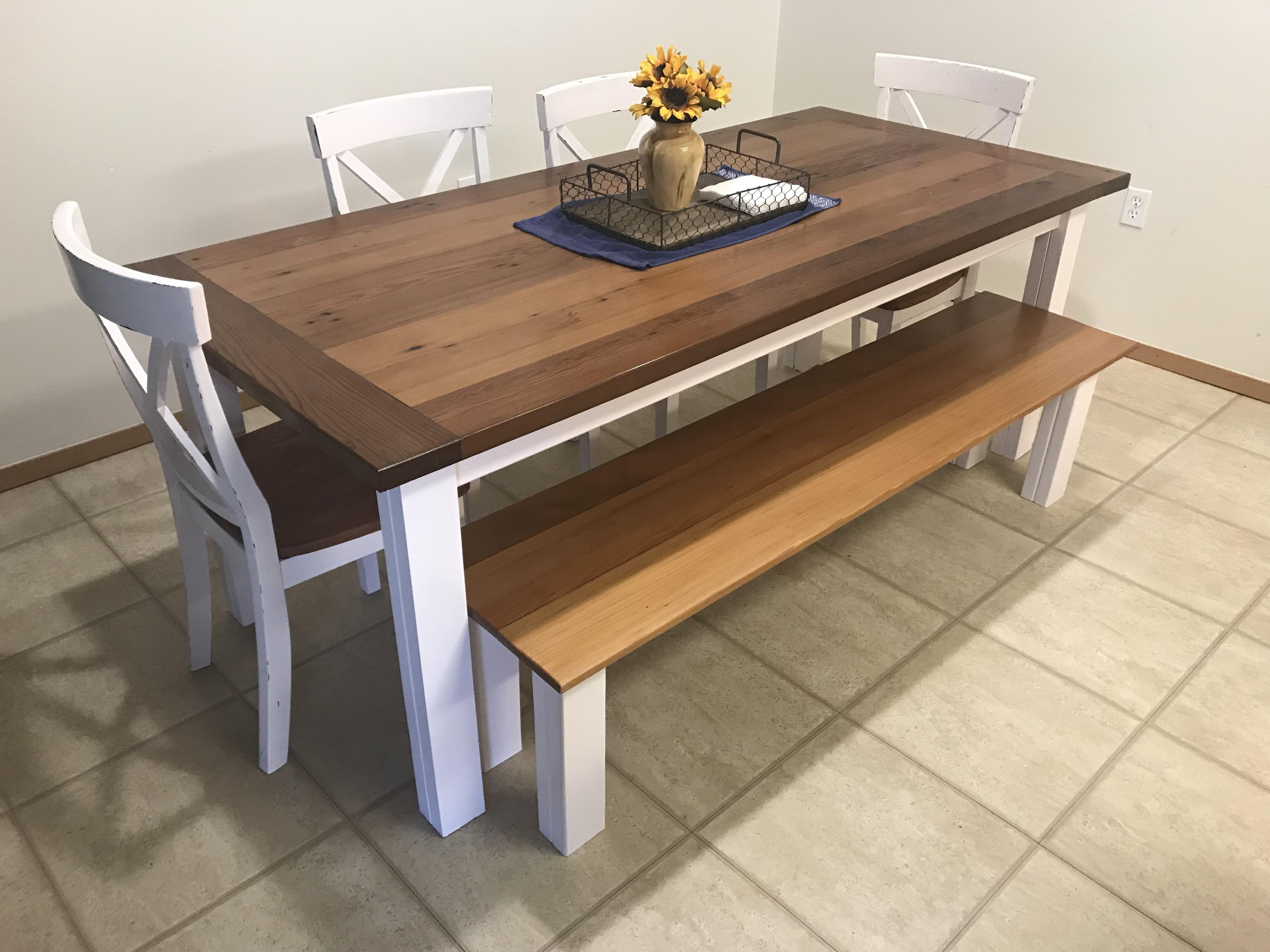 Pine Woodworking Bench