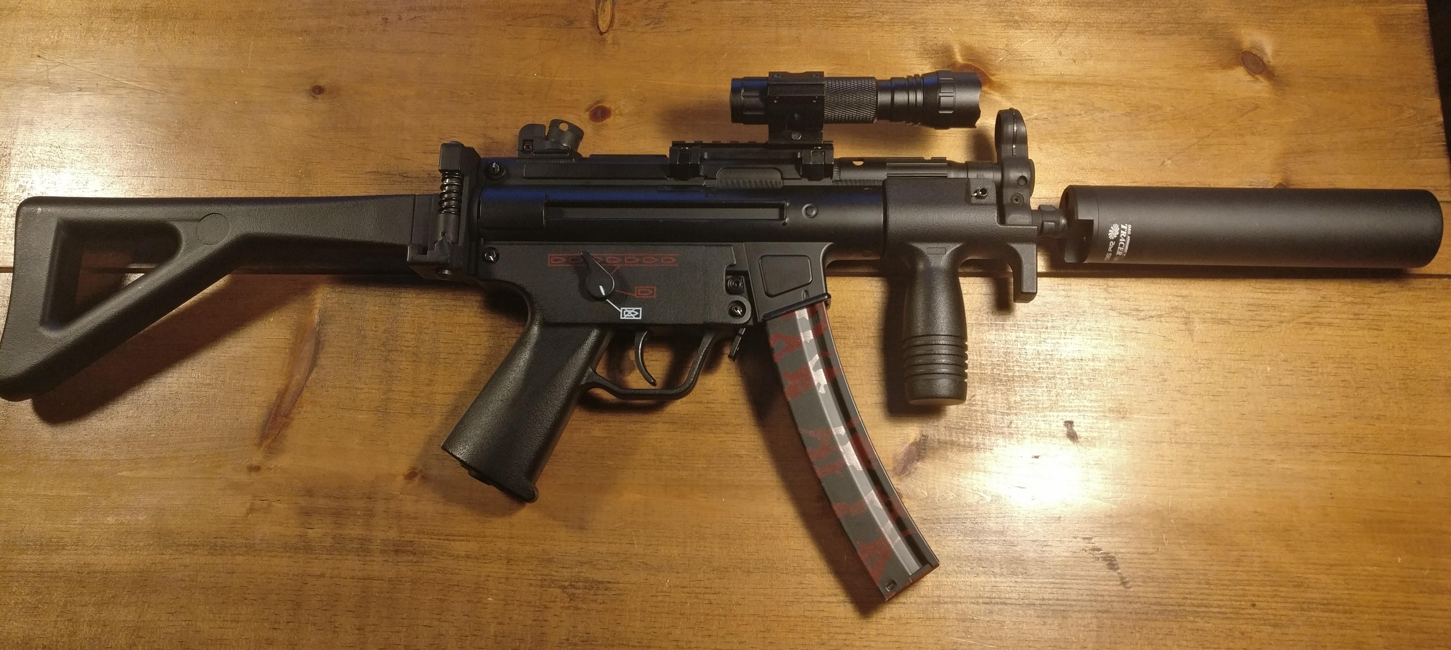My MP5K PDW : airsoft