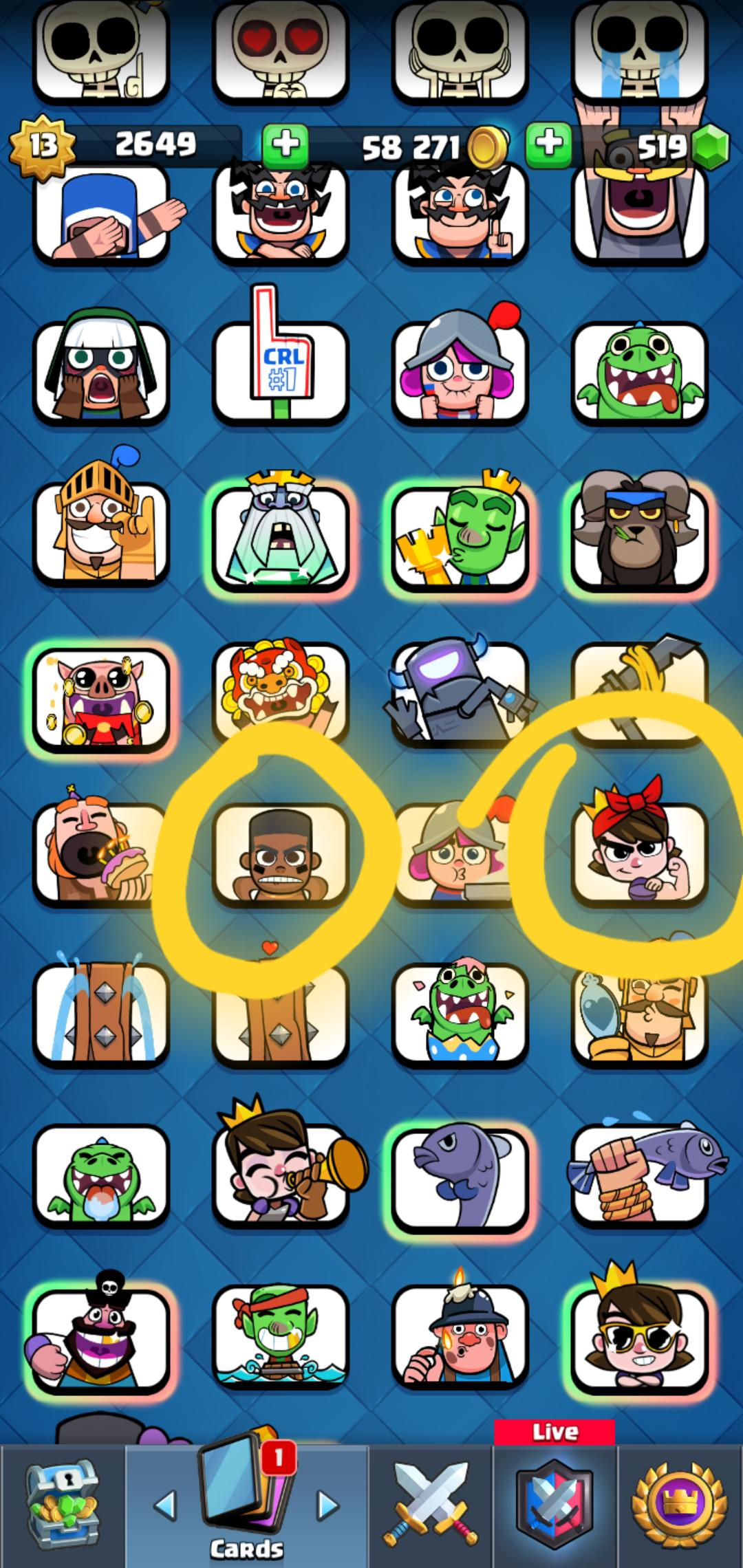 Clash Royale Emojis : clash, royale, emojis, These, Emoji, Legendary?, ClashRoyale