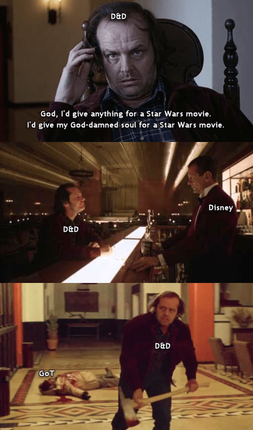 Someone asked for D&D / The Shining memes so.... : freefolk