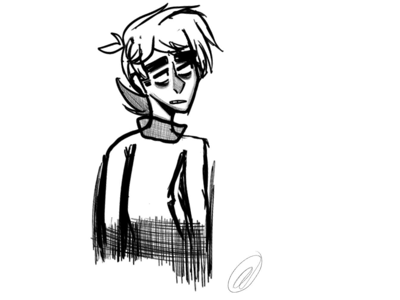 Paul with his sweater on : Eddsworld