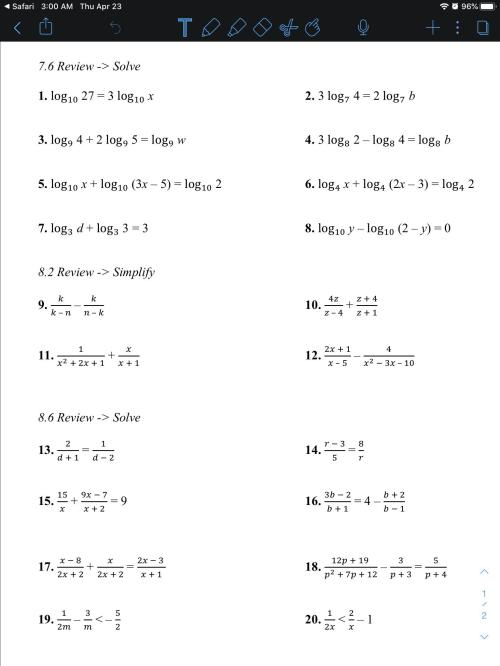 small resolution of Can someone help with this worksheet? Grade 9 Algebra 2/Trigonometry:  Worksheet: HomeworkHelp