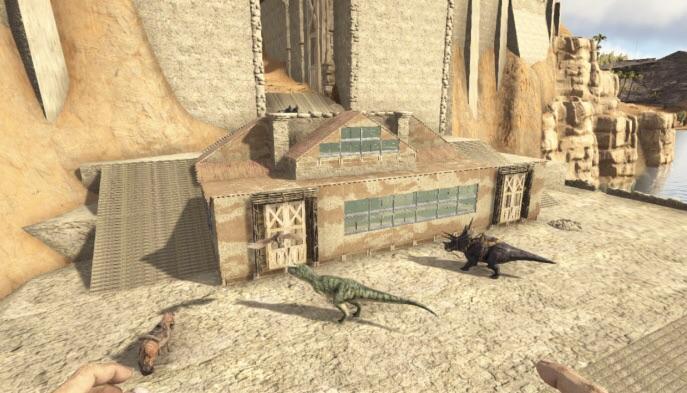 desert temple base i