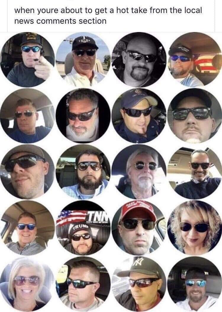 White Glasses Meme : white, glasses, Always, Middle, White, People, Sunglasses, Every, Goddamn, Fuckthealtright