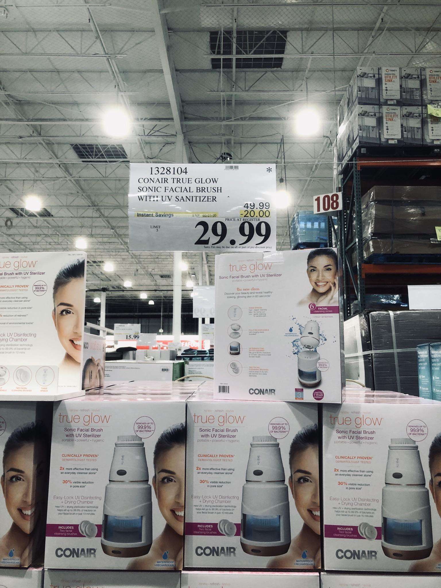 Conair Face Brush Costco : conair, brush, costco, Product, Question], Thoughts, Facial, Brush, Sanitizer, Costco, Selling?, SkincareAddiction