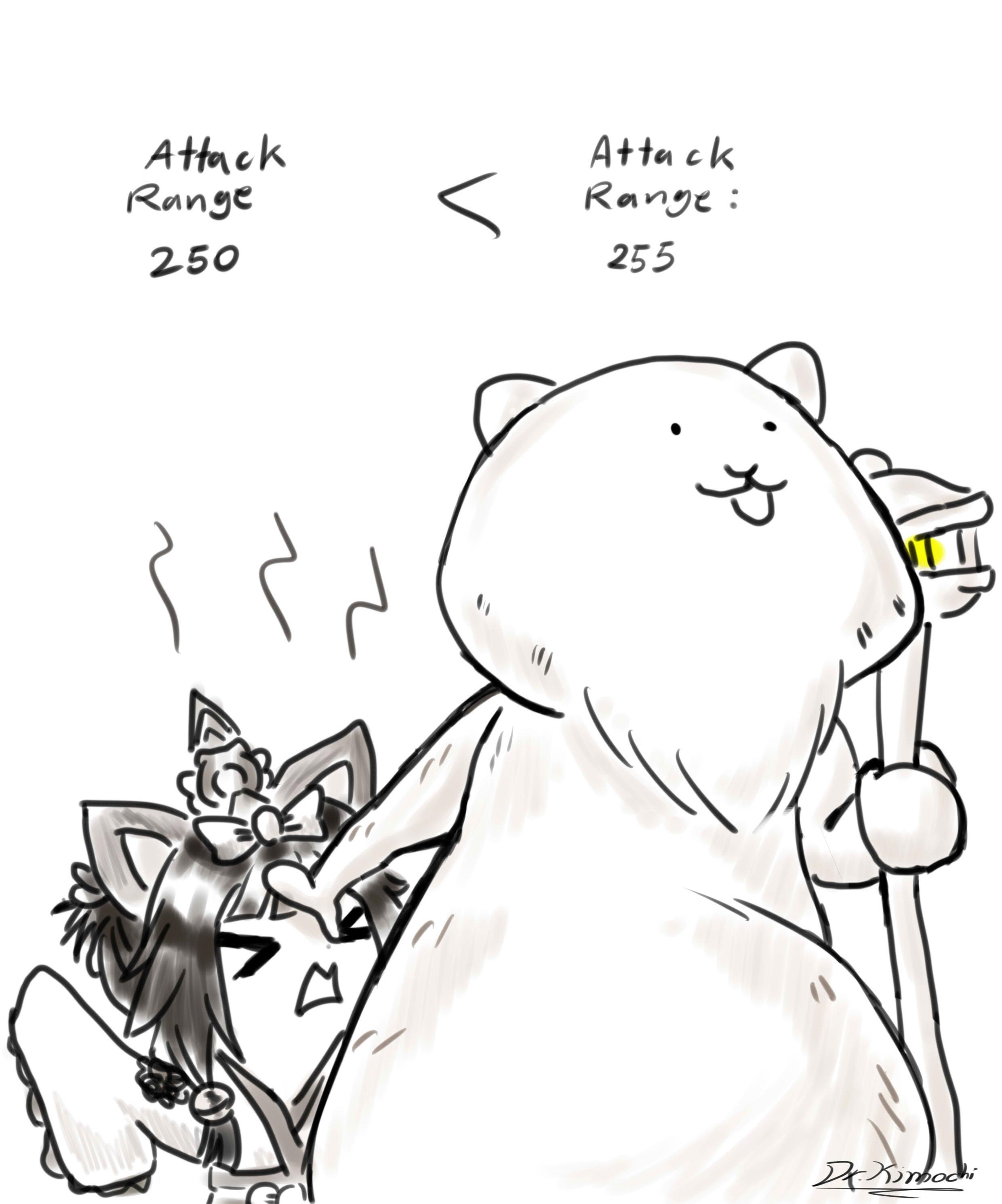 Lorax Vs Miko Fan Made Battlecats