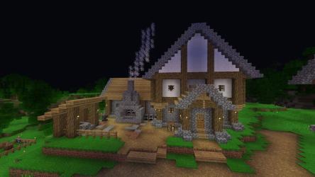 I found a toolsmith so I began building a blacksmith for him I like the way it s looking thus far : Minecraft