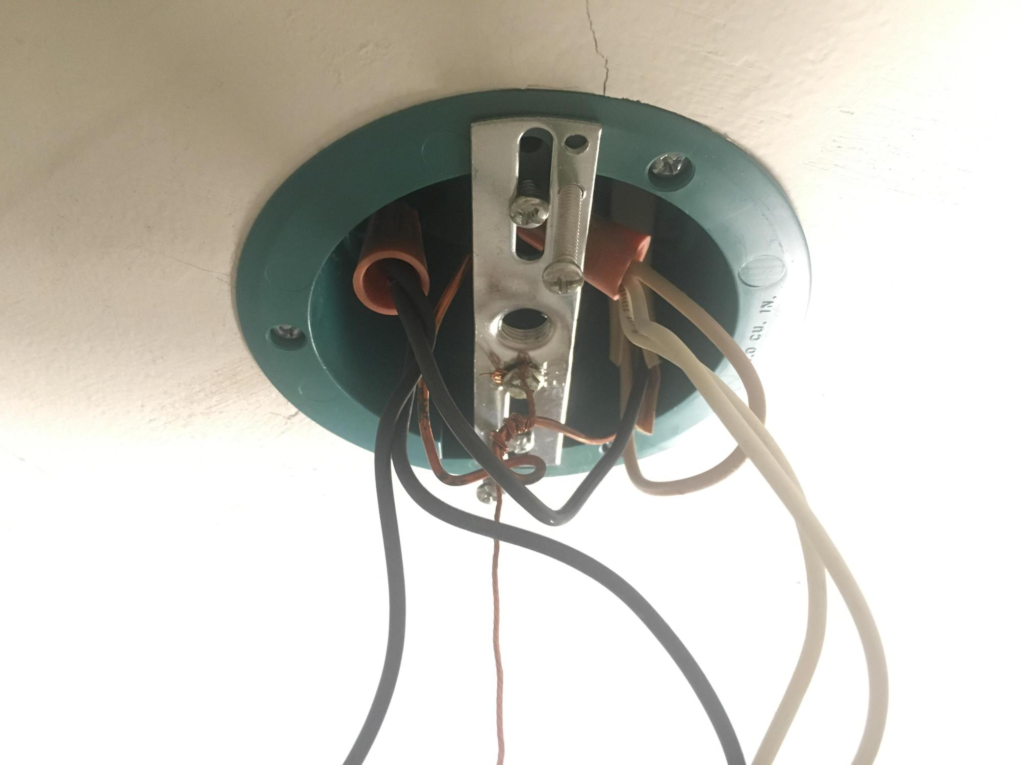 hight resolution of replacing my first light fixture new one has 3 wires clearly light fixture only has black white wiring