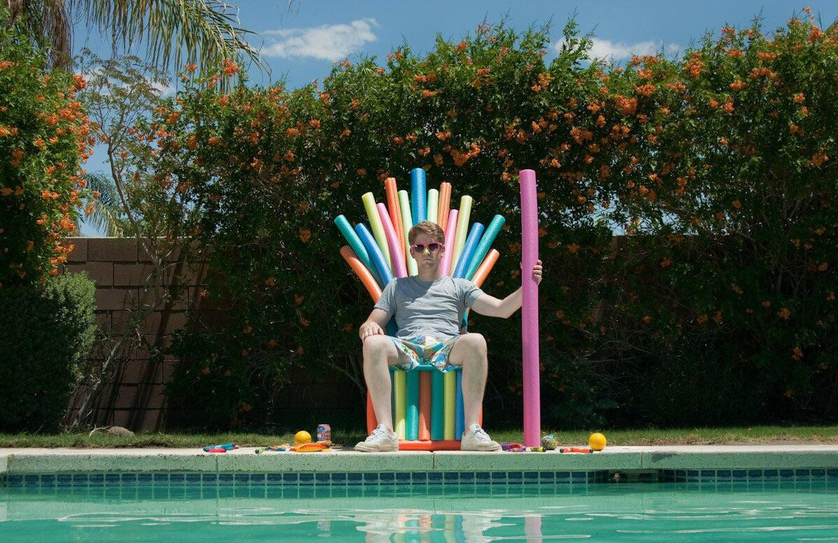 iron throne chair cover hula psbattle pool noodle photoshopbattles