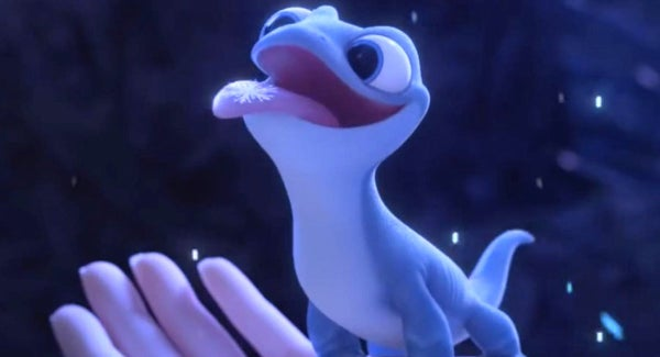 In Disney S Frozen 2 There Is A Cute Elemental Salamander Not Unlike A Pokemon This Is A Reference That Someday Disney Will Own Everything In The Entertainment Industry Including Pokemon Shittymoviedetails