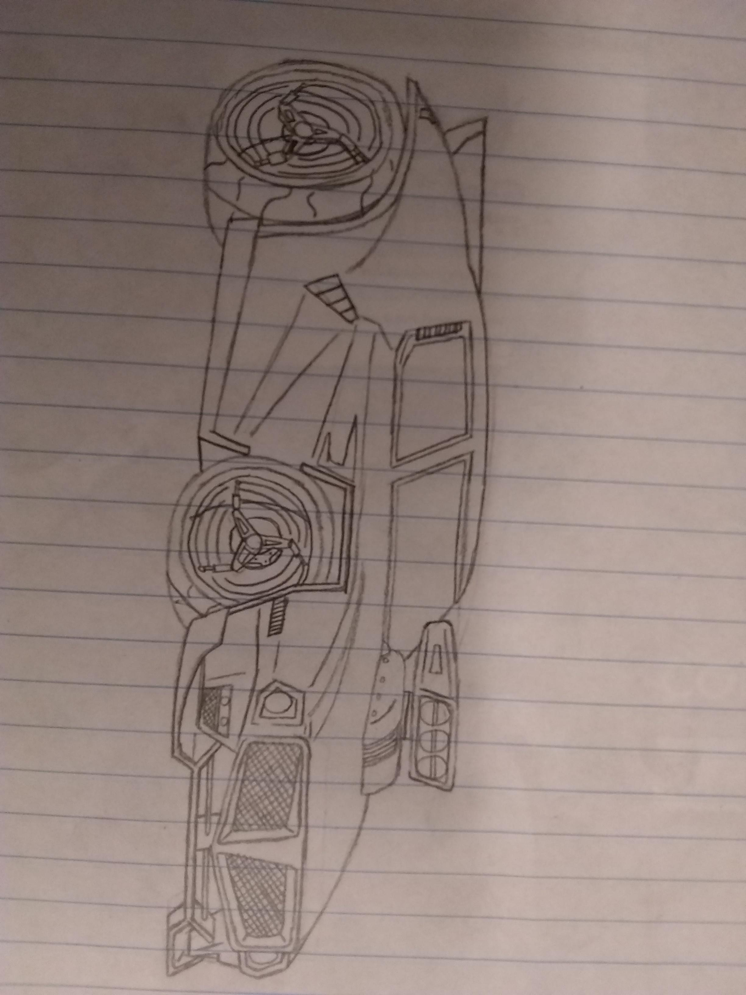 Rocket League Drawing : rocket, league, drawing, Dominus, Drawing, RocketLeague