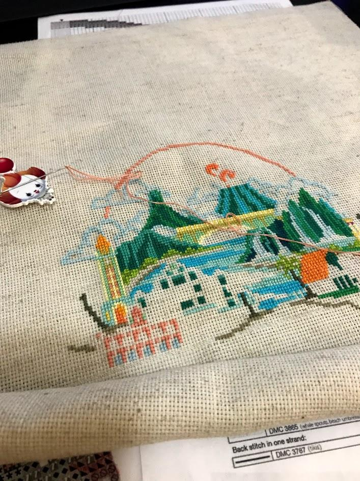 Can You Embroider Without A Hoop : embroider, without, CHAT], Anyone, Stitch, Without, Frame?, CrossStitch