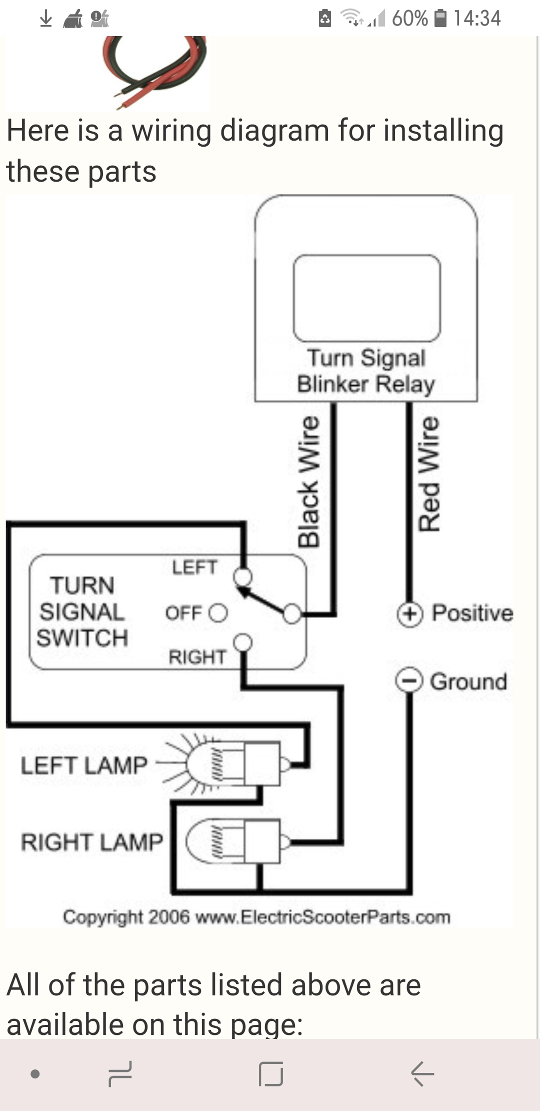 Wiring Diagram For Indicator