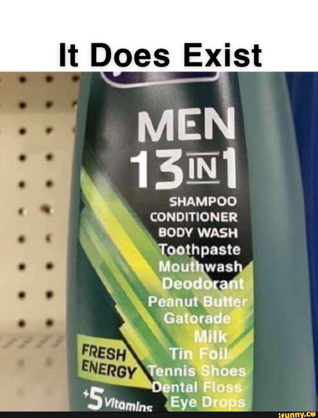 6 In 1 Shampoo Meme : shampoo, Legendary