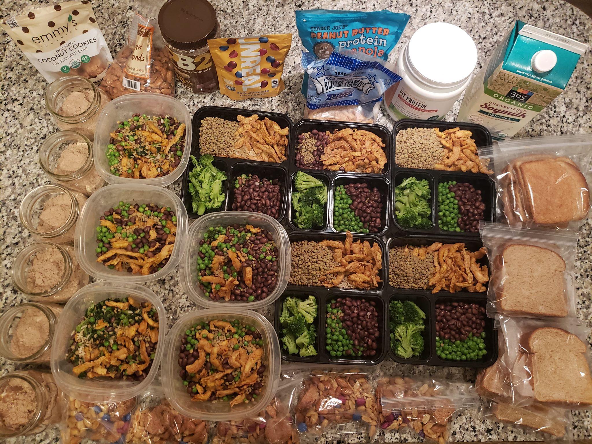Vegan Fitness Meal Prep