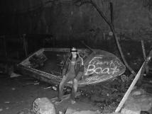' Boat In Tunnel 50 Ft Underground