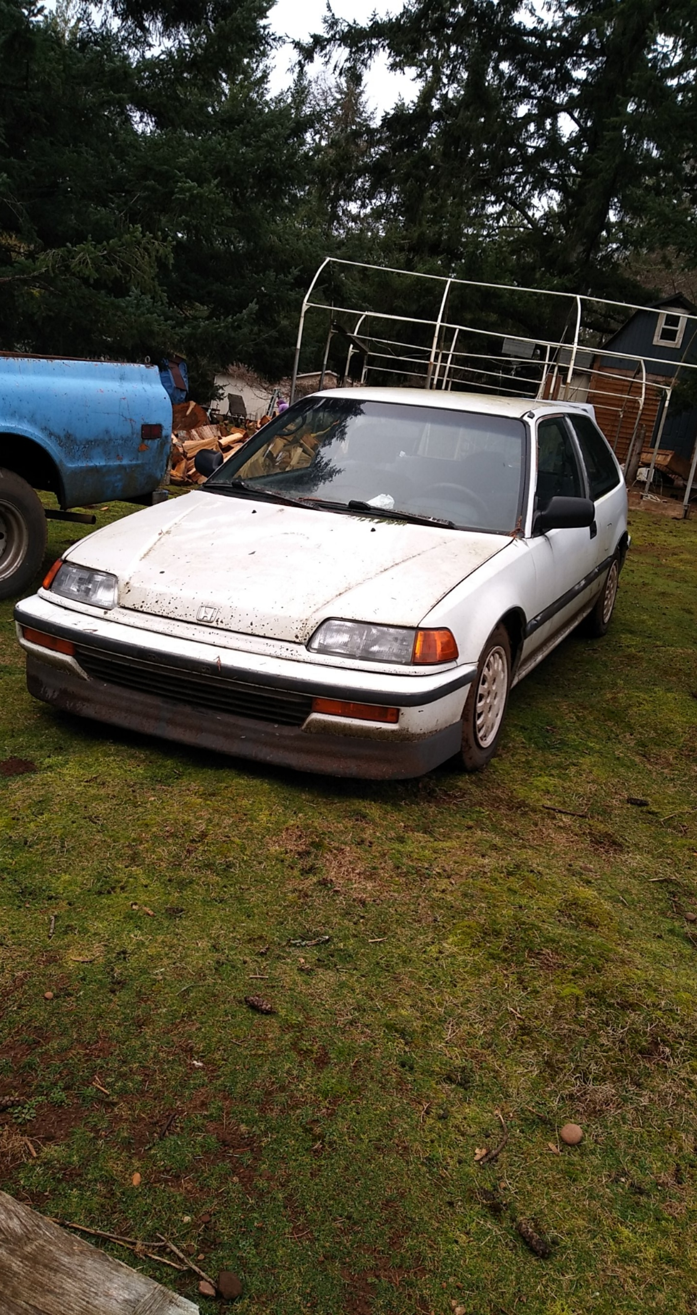 91 Honda Civic Dx : honda, civic, Honda, Civic, Miles,, Engine, Detail, Cleaning, Projectcar