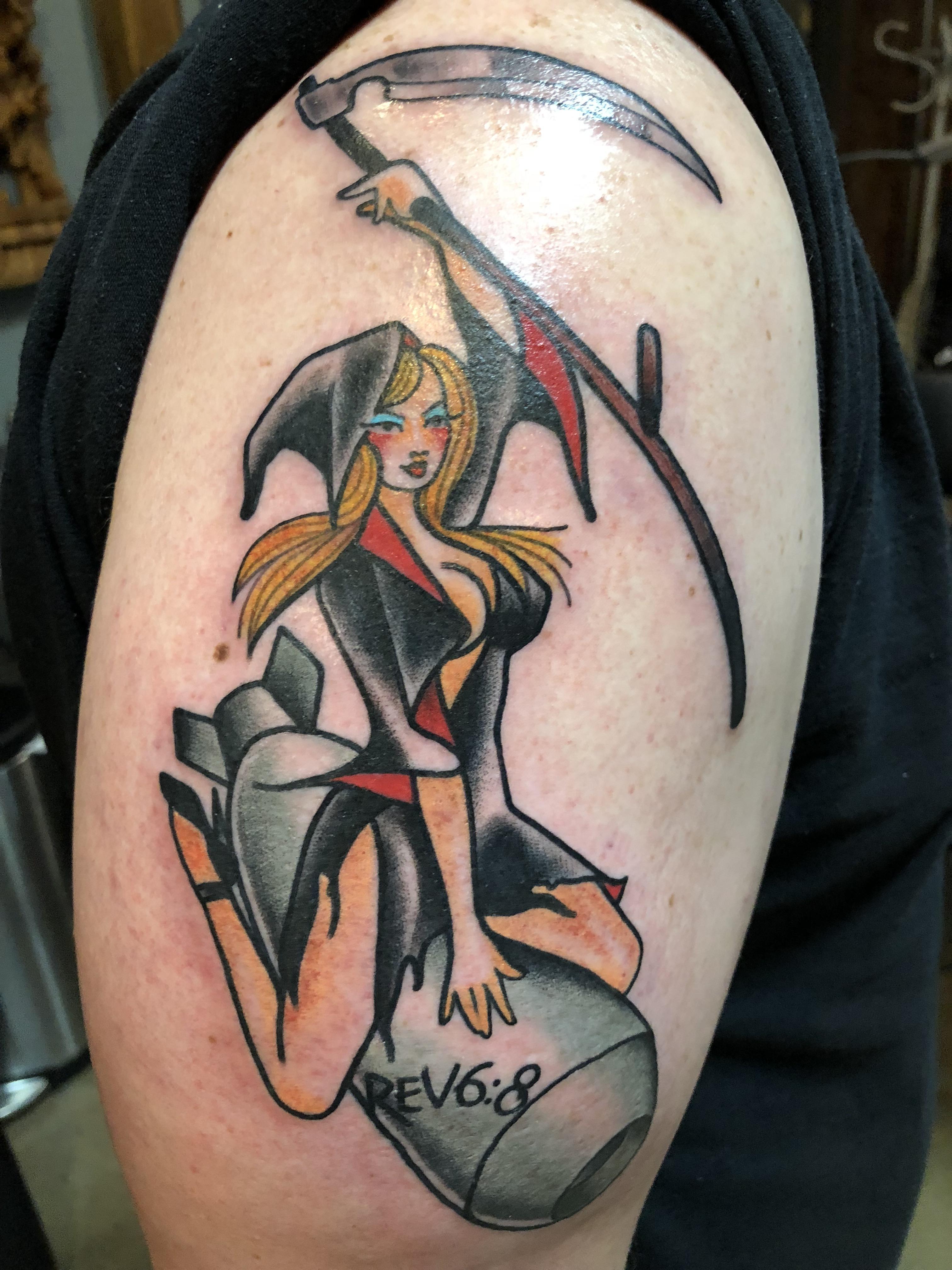 Pale Horse Tattoos : horse, tattoos, Revelations, Behold, Horse..., Leviticus, Minneapolis., Tattoos